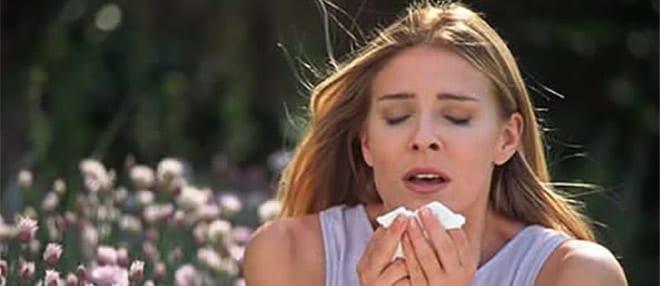 alergia primaveral estornudos