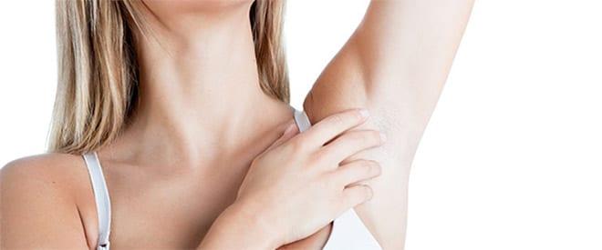 cirugía de mamas axilar