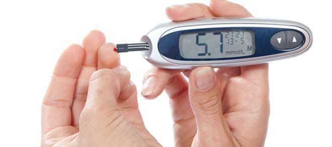 Diabetes, sistema flash