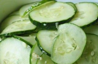 Dieta metabólica. Consume pepinos
