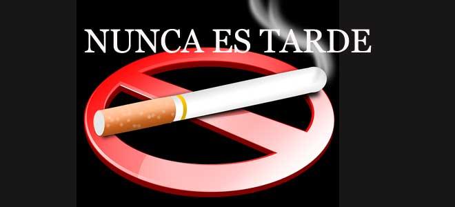 Epoc, dejar de fumar, nunca es tarde