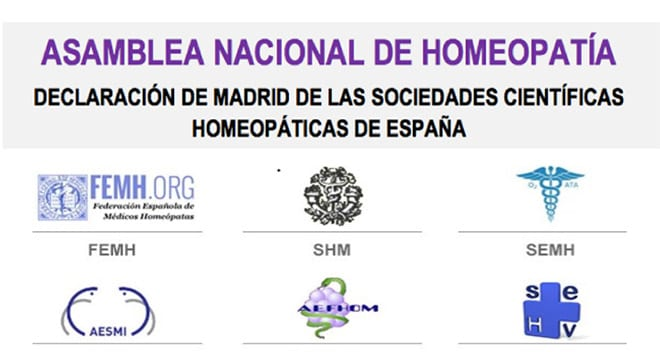 Manifiesto homeopatía Madrid