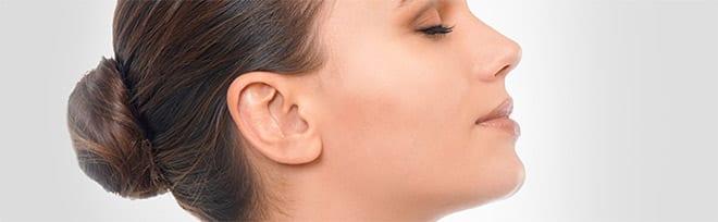 Operación de orejas cirugía
